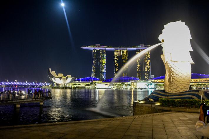 Merlion, Singapore